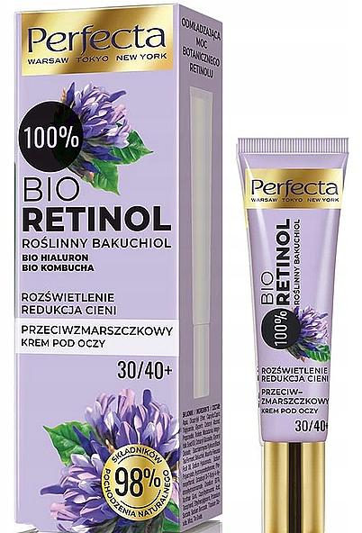 Crème anti-rides contour des yeux - Perfecta Bio Retinol 30+/40+ Eye Cream