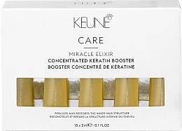 Parfums et Produits cosmétiques Ampoules capillaires concentrées de kératine - Keune Care Miracle Elixir Concentrated Keratin Booster