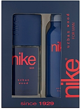Parfums et Produits cosmétiques Nike Men Urban Wood - Set (déodorant/200ml + spray/75ml)