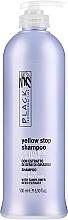Parfums et Produits cosmétiques Shampooing déjaunissant à l'extrait de tournesol - Black Professional Line Yellow Stop Shampoo