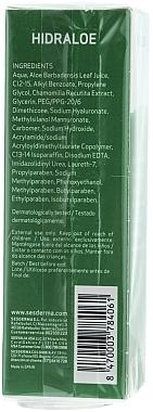 Crème au jus d'aloe vera contour des yeux - SesDerma Laboratories Hidraloe Eye Contour Cream — Photo N3