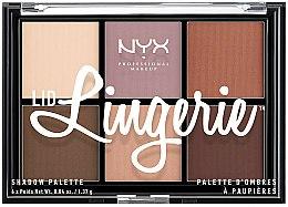 Parfums et Produits cosmétiques Palette de fards à paupières - NYX Professional Makeup Lingerie Shadow Palette