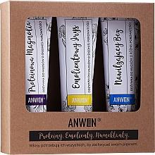 Parfums et Produits cosmétiques Anwen - Set (après-shampooing/3x100ml, magnolia iris et lilas )