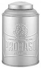 Parfums et Produits cosmétiques Distributeur de talc et poudre - Proraso Tin Box