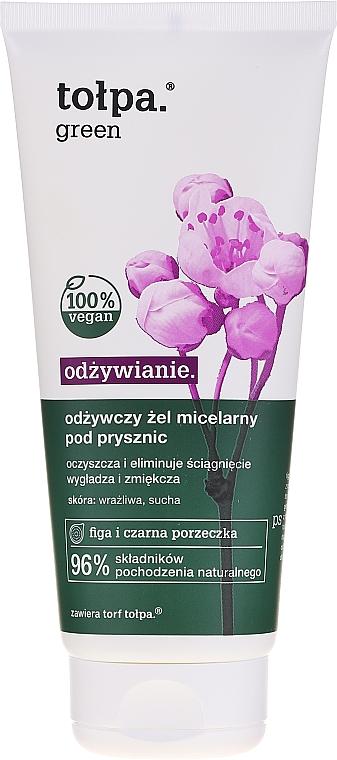 Gel douche micellaire à l'extrait de figue et cassis - Tolpa Green — Photo N1