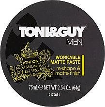 Parfums et Produits cosmétiques Pâte coiffante matifiante - Toni & Guy Men Workable Matte Paste