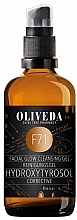Parfums et Produits cosmétiques Gel nettoyant correcteur à l'huile d'olive pour visage - Oliveda F71 Cleansing Gel Hydroxytyrosol Corrective
