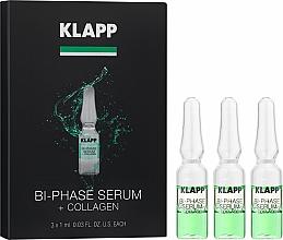 Parfums et Produits cosmétiques Sérum bi-phasé au collagène pour visage - Klapp Bi-Phase Serum Collagen