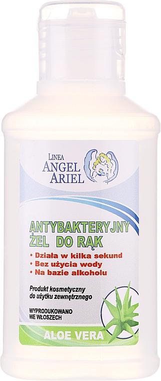 Gel antibactérien à l'aloe vera pour mains - Linea Angel Ariel Antibacterial Hand Gel Aloe Vera
