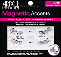 Parfums et Produits cosmétiques Faux-cils magnétiques (supérieurs et inférieurs) - Ardell Magnetic Lashes Accents 001