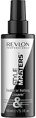 Spray lissant et thermoprotecteur pour cheveux - Revlon Professional Style Masters Double or Nothing Endless Lissaver — Photo N1