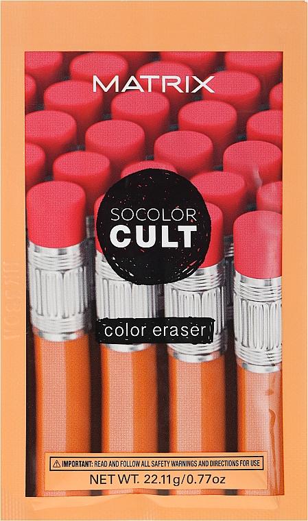 Dissolvant de couleur de cheveux - Matrix SoColor Cult Color Eraser