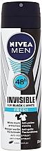 Parfums et Produits cosmétiques Déodorant spray - Nivea for Men Invisible for Black & White Power Deodorant Spray