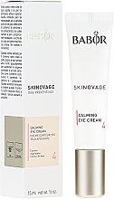 Parfums et Produits cosmétiques Crème aux peptides et vitamine E pour contour des yeux - Babor Skinovage Calming Eye Cream