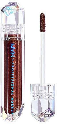 Gloss à lèvres brillant - NYX Professional Makeup Diamonds & Ice Please Lip Topper