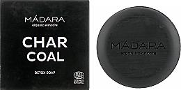 Parfums et Produits cosmétiques Savon nettoyant au charbon pour visage - Madara Cosmetics Charcoal Detox Soap