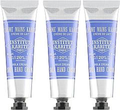 Parfums et Produits cosmétiques Institut Karite - Lot (crèmes pour les mains/3x30ml)