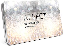 Parfums et Produits cosmétiques Boîte de maquillage mini en aluminium - Affect Cosmetics Glossy Box Mini Aluminium Palette