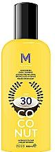 Parfums et Produits cosmétiques Crème solaire pour bronzage foncé - Mediterraneo Sun Coconut Sunscreen Dark Tanning SPF30