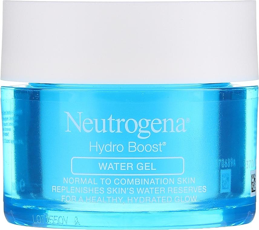 Gel à l'acide hyaluronique pour visage - Neutrogena Hydro Boost Water Gel For Normal & Combination Skin — Photo N2