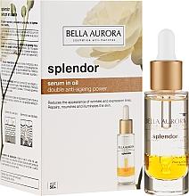 Parfums et Produits cosmétiques Sérum en huile réparateur pour visage - Bella Aurora Splendor 10 Serum