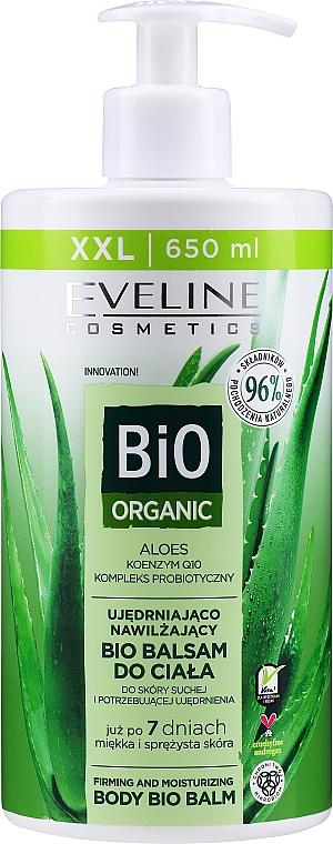 Baume bio à l'aloe vera pour corps - Eveline Cosmetics Bio Organic Firming & Moisturizing Body Bio Balm Aloe Vera