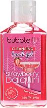 Parfums et Produits cosmétiques Gel antibactérien pour mains, Daiquiri fraise - Bubble T Cleansing Hand Gel Strawberry Daiquiri