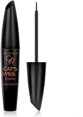 Eyeliner liquide - Golden Rose Cat's Eyes Eyeliner