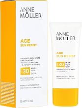 Parfums et Produits cosmétiques Crème solaire à la glycérine pour visage - Anne Moller Age Sun Resist Protective Face Cream SPF30