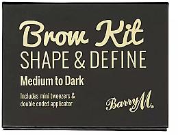 Parfums et Produits cosmétiques Palette à sourcils - Barry M Brow Kit