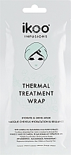 Parfums et Produits cosmétiques Masque-bonnet anti-frisottis à l'huile de camélia pour cheveux - Ikoo Infusions Thermal Treatment Wrap