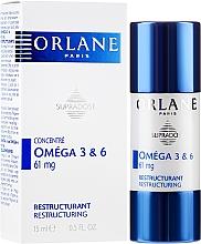 Parfums et Produits cosmétiques Sérum concentré restructurant visage avec Omega 3&6 - Orlane Supradose Omega 3&6 Restructuring Concentrate