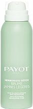 Parfums et Produits cosmétiques Brume rafraichissante pour jambes - Payot Herboriste Detox Brume Jambes Legeres