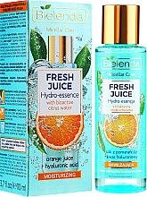 Parfums et Produits cosmétiques Sérum hydratant à l'eau d'agrumes bioactive et jus d'orange pour visage - Bielenda Fresh Juice Hydro Essential Orange