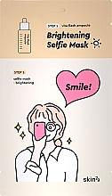 Parfums et Produits cosmétiques Masque tissu en 2 étapes - Skin79 Brightening Selfie Mask