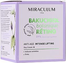 Parfums et Produits cosmétiques Crème de jour liftante - Miraculum Bakuchiol Botanique Retino Anti-Age Intensive Lifting
