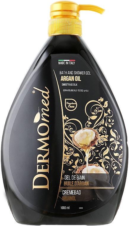 Gel bain et douche à l'huile d'argan - Dermomed Bath And Shower Gel Argan Oil