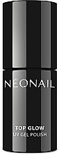 Parfums et Produits cosmétiques Top coat pour vernis semi-permanent - NeoNail Professional UV Gel Polish Top Glow Sparkling