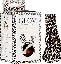 Parfums et Produits cosmétiques Bandeau pour cheveux, léopard - Glov Spa Bunny Ears Headband Safari Edition