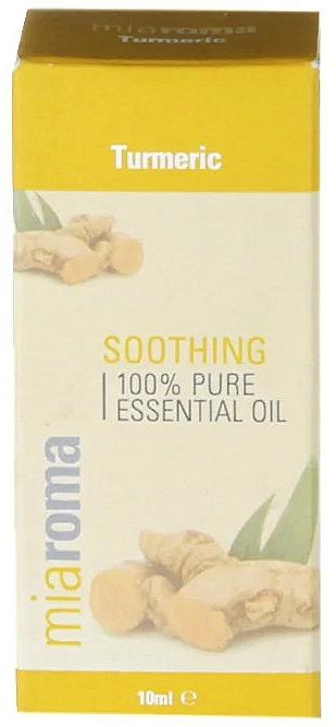 Huile essentielle de curcuma - Holland & Barrett Miaroma Turmeric Pure Essential Oil
