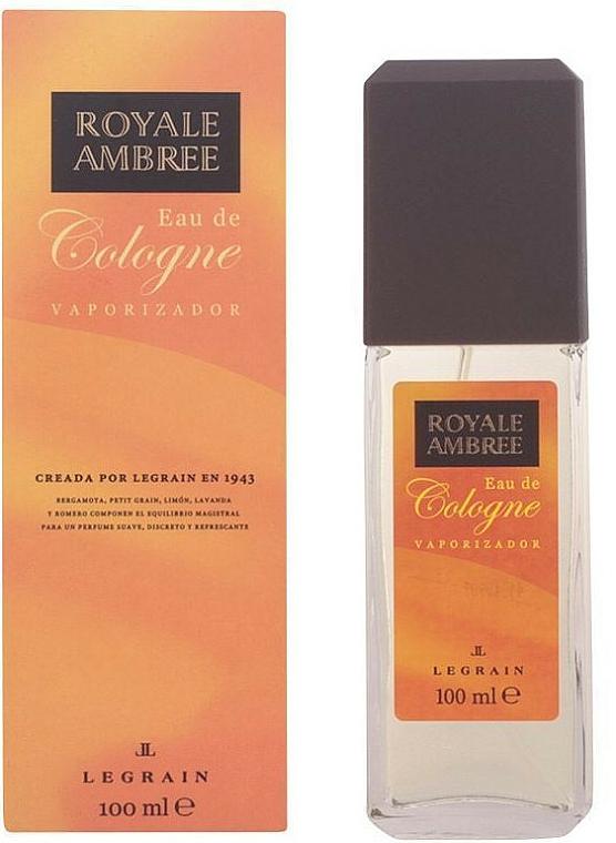 Legrain Royale Ambree - Eau de Cologne vaporisateur
