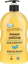 Parfums et Produits cosmétiques Shampooing et gel douche Banane et aloe vera - Bluxcosmetics Naturaphy
