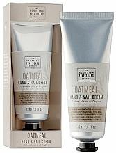 Parfums et Produits cosmétiques Crème pour mains et ongles - Scottish Fine Soaps Oatmeal Hand & Nail Cream