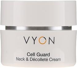 Parfums et Produits cosmétiques Crème à l'extrait d'aloe vera pour cou et décolleté - Vyon Cell Guard Neck and Dekollete Cream