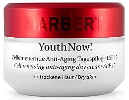 Parfums et Produits cosmétiques Crème de jour au beurre de karité - Marbet YouthNow! Anti-Aging Day Cream Dry Skin SPF15
