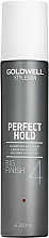 Parfums et Produits cosmétiques Laque volumatrice fixation forte - Goldwell Style Sign Perfect Hold Big Finish Volumizing Hairspray