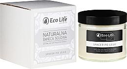 Parfums et Produits cosmétiques Bougie parfumée en cire de soja naturelle, Promenade dans la forêt - Eco Life Candles