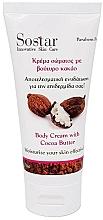 Parfums et Produits cosmétiques Crème au beurre de cacao pour corps - Sostar Focus Moisturizing Body Cream With Cocoa Butter