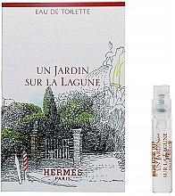 Parfums et Produits cosmétiques Hermes Un Jardin Sur La Lagune - Eau de toilette (échantillon)