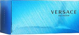 Parfums et Produits cosmétiques Versace Man Eau Fraiche - Coffret (eau de toilette/100ml + gel douche/100ml + trousse de toilette)